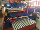 Metallblatt gerunzelt und Wand-Dach-Panel-doppelte Schicht-Rolle, die Maschine bildet