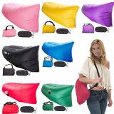 Bearing 300 Kg 10 colores 3-temporada única al aire libre sofá perezoso sofá-cama portátil plegable de aire rápido inflable sofá cama