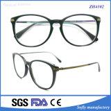 Het Optische Frame van uitstekende kwaliteit Eyewear van de Tempel van het Metaal van het Schouwspel van de Acetaat