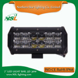 7 '' barra di 5D 36W LED che illumina la jeep movente fuori strada del camion, SUV, Ute, accessori dell'automobile di ATV