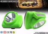 lampada di protezione senza cordone ricaricabile del minatore di sicurezza di 13000lux OLED Discreen