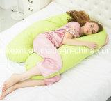 U-Тип подушка стельности формы с хлопко-бумажная тканью