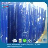 Het aangepaste van de Rang van het Voedsel Super Duidelijke Flexibele Blauwe Transparante Gordijn van de Deur van het pvc- Blad