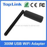 Toplink Rt5572n se dobla adaptador solo del soporte sin hilos del USB de la venda 300Mbps 802.11 Abgn para el receptor androide del RF del rectángulo de la TV
