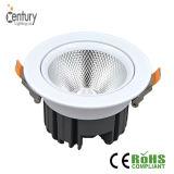 El proyector ahuecado 20W ajustable Downlight LED Downlight de la MAZORCA LED de Downlight Epistar con Significa-Bien el programa piloto