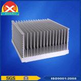 El perfil de aluminio/de aluminio anodizado para el disipador de calor con ISO9001 certificó