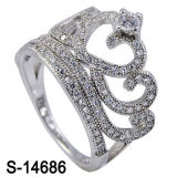 새 모델 형식 보석 크라운 디자인 반지 은 925