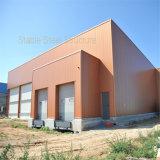 Construction préfabriquée portique de structure métallique de lumière de bâti