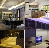 5050 LEIDENE die van de hoogspanning Strook in de Fabrikant van de Verlichting van het Project/van het Huis/van het Hotel wordt toegepast