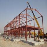 De geprefabriceerde Structuur van het Staal voor de Workshop en het Pakhuis van de Fabriek
