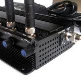 Emittente di disturbo potente del segnale di VHF Lojack di frequenza ultraelevata di WiFi GPS del cellulare di 2g 3G con i tasti registrabili