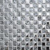 Telha de vidro do mosaico do espelho decorativo da parede (FY23B)