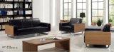 Самомоднейшая софа офиса деревянного и кожаный зала ожидания секционная