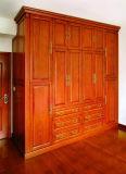 Garde-robe de peinture de chambre à coucher en bois solide (GSP9-004)