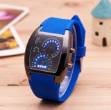 安い女性の方法人の女の子LEDの腕時計