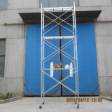 Impalcature sicure della costruzione dello SGS di Zds