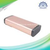 Amplificador móvil exterior al aire libre Caja de aluminio de aluminio Digital Sound Box Profesional mini altavoz Bluetooth con gancho