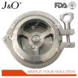 Control de la válvula sanitaria de la abrazadera de acero inoxidable