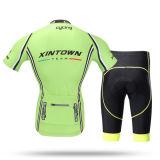Desgaste corto de la bicicleta de la sublimación de las fundas de China que completa un ciclo Jersey y los pantalones, conjuntos de ciclo