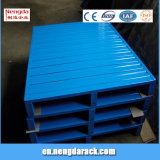 Crémaillère en acier de palette de défilement ligne par ligne de qualité de palette pour l'entrepôt