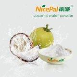 Свежий порошок воды кокоса для делать функциональную еду