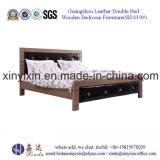 Muebles de madera del dormitorio de los muebles del hotel de Dubai de la sola base (SH-022#)