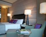 Мебель комнаты грецкого ореха деревянная установила для 4/5 гостиниц звезды