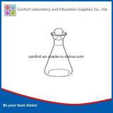 Boccetta dello iodio della vetreria per laboratorio con Terra-nel tappo smerigliato, Boro 3.3