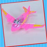 Het grappige Stuk speelgoed van het Vliegtuig van de Verlichting met Suikergoed