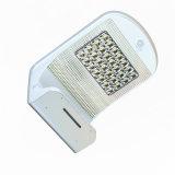 Lampe extérieure de DEL de mouvement de mur de maison solaire lumineuse superbe de lumière avec l'éclairage blanc pur et chaud