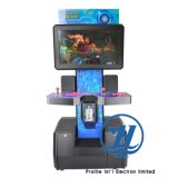 Tipo de empujador de la moneda máquina de juego de arcada de la cabina del xBox 360 (ZJ-AR-X360-N)
