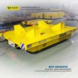 Carrello ferroviario elettrico di trasporto di trasferimento con la rotella della gru sulle rotaie