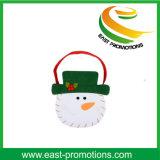 Мешок войлока рождественской елки и снеговика с