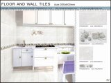 baldosa cerámica del suelo y de la pared de la inyección de tinta 3D (VWD36C605, 300X600m m)
