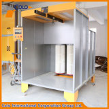 Cabina di spruzzo manuale calda di formato standard di vendite per il rivestimento Colo1517 della polvere