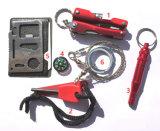 Conjunto de herramienta Emergency de la supervivencia para viajar