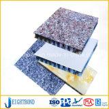 Painel de alumínio do favo de mel do mármore da pedra do mais baixo preço para materiais de construção