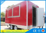 Remorque mobile d'aliments de préparation rapide de camion de nourriture de Ys-Fv390b