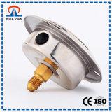Olio dell'acciaio inossidabile del manometro di alta esattezza - calibro riempito di pressione del carburante