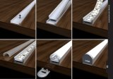profil en aluminium d'extrusion de 4224highquality DEL pour la lumière de bande de DEL