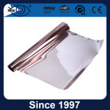 Golden Silver Reflective One Way Vision Film de fenêtre de construction solaire