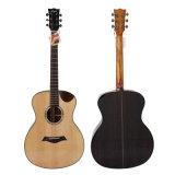Guitarra acústica superior contínua de Cutway da bacia 40-Inch Handmade do tipo de Aiersi
