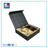 Rectángulo de empaquetado modelo de lujo del libro de papel para los productos de cuidado de piel