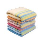 Baumwollzoll gedrucktes Baumwolltuch 100% für Strand-Förderung Supersoft Soem-Qualitäts-Velour