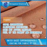 Rivestimento a base d'acqua di Superhydrophobic per il tessuto (PF-208)