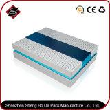 1200g choisissent la caisse d'emballage grise de papier de cadeau de panneau