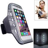 Accesorios promocionales del teléfono del precio de la fábrica que se divierten el brazal del LED que contellea