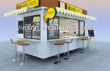 판매 사우디 아라비아를 위한 Ys-400A Churros 음식 트레일러 음식 트럭