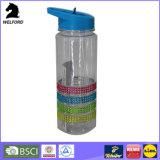 Светлая бутылка воды полосы силикона 750ml