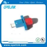 Manutenção programada simples do adaptador da fibra óptica do LC para &#160 ótico; LAN da fibra